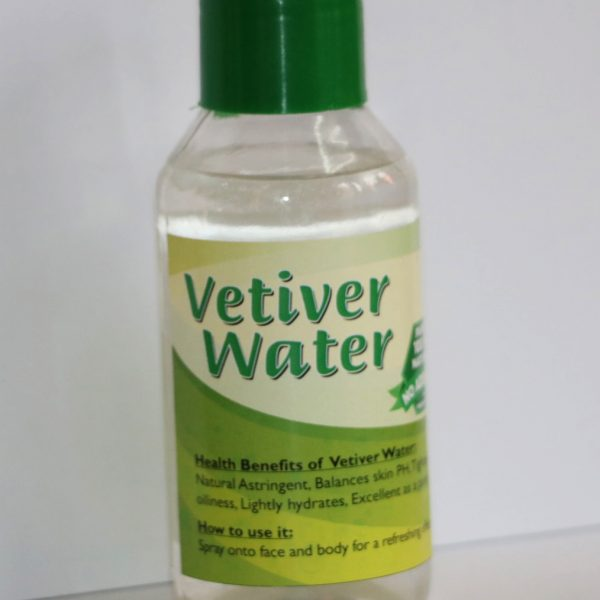 Vetiver water